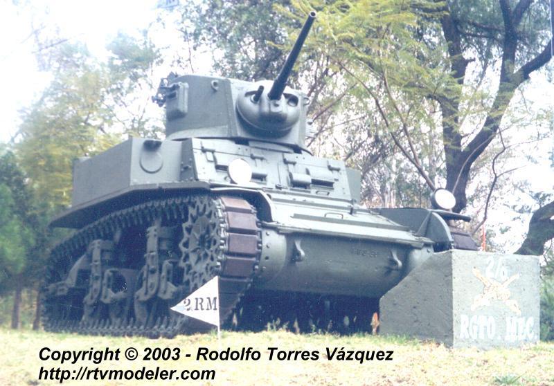 Los primeros Tanques en México. Rtx-09