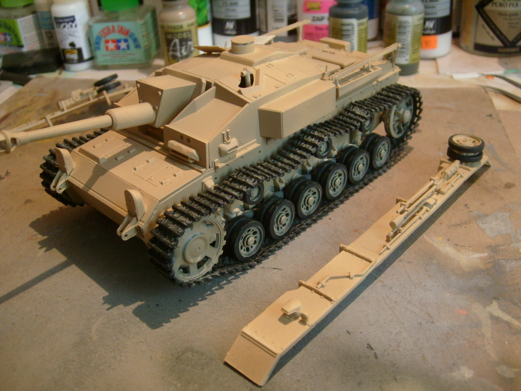 Dragon Stug III Ausf F, 142/1 - LSM Work In Progress - Large