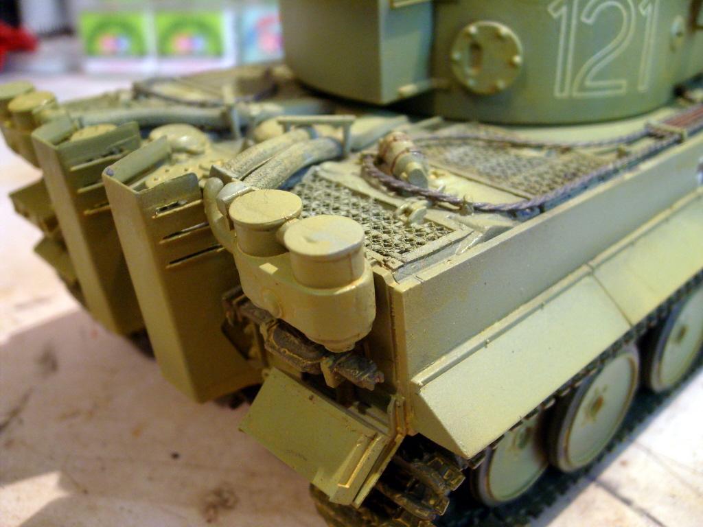 Tiger I, Ausf E/H, 1/35    - LSM Work In Progress - Large Scale Modeller